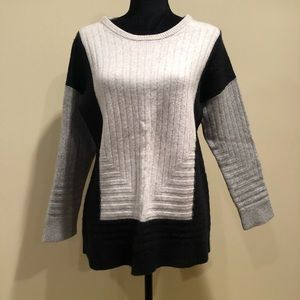 Vince wool colour block sweater size large